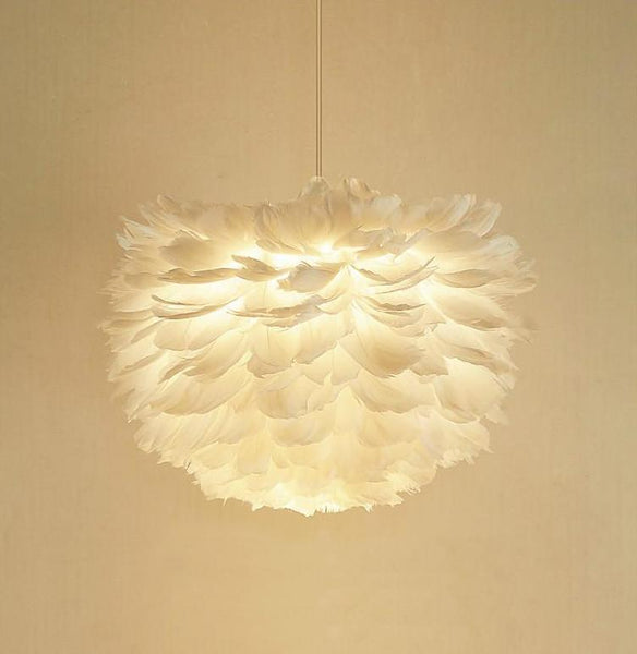 FLOATING Feather Pendant Light at Lifeix Design