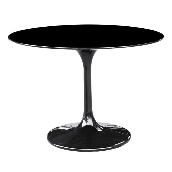 Black Flower Table 48""