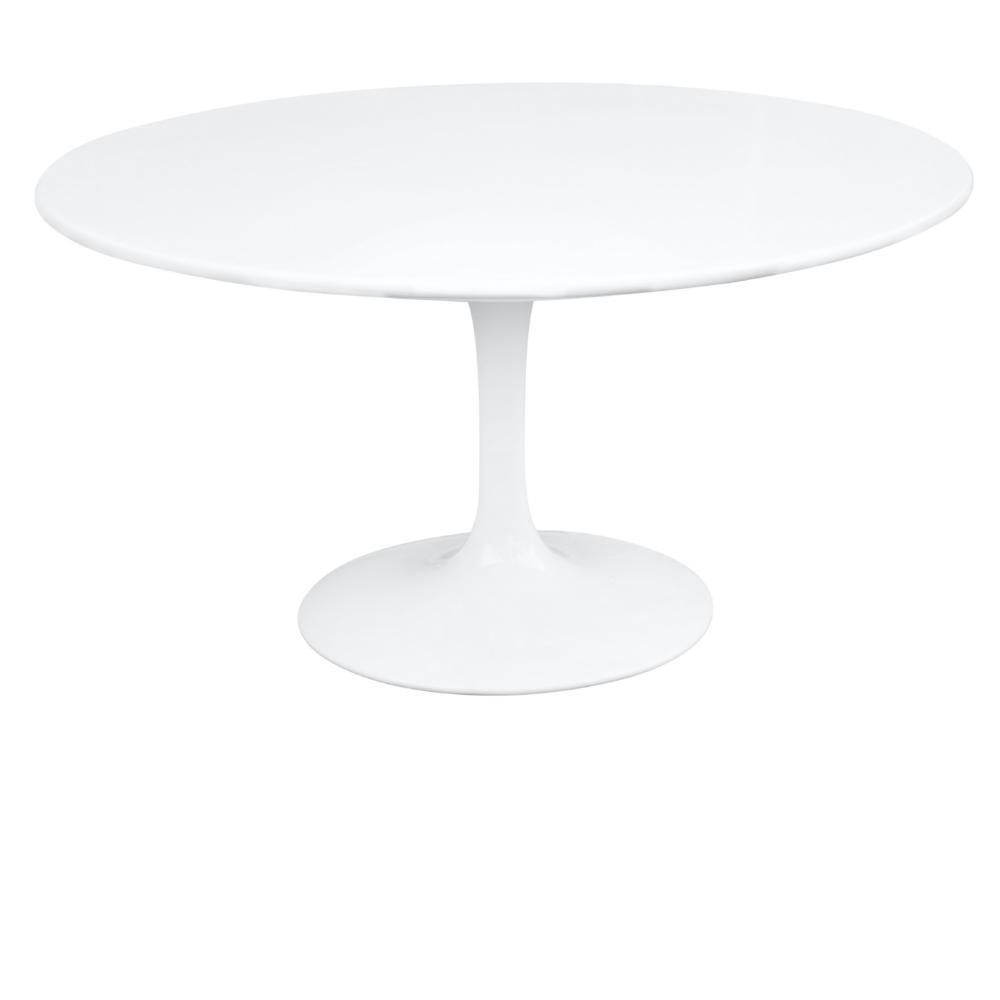 White Flower Table 60""