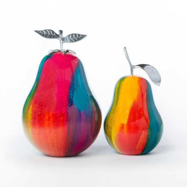 Forbiden Pears- In color- 100% handcrafted Set of two