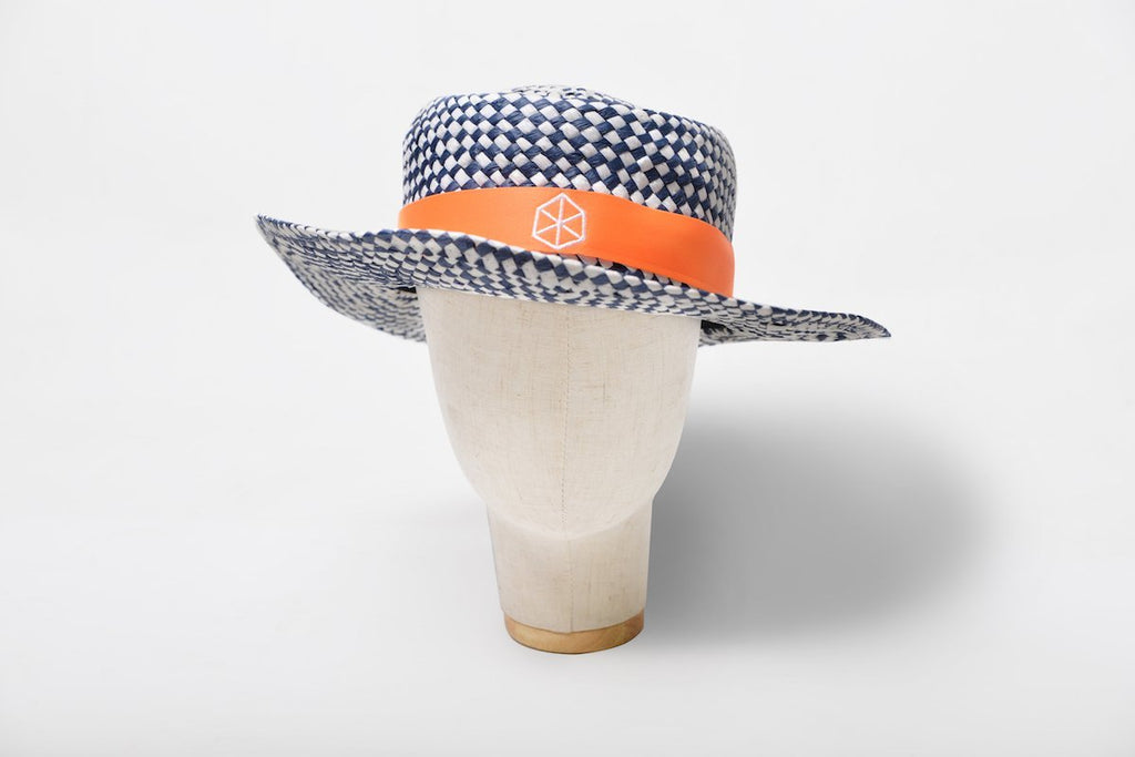 Hat Fresh Golf Hat Made of Light Weight Woven Papyrus