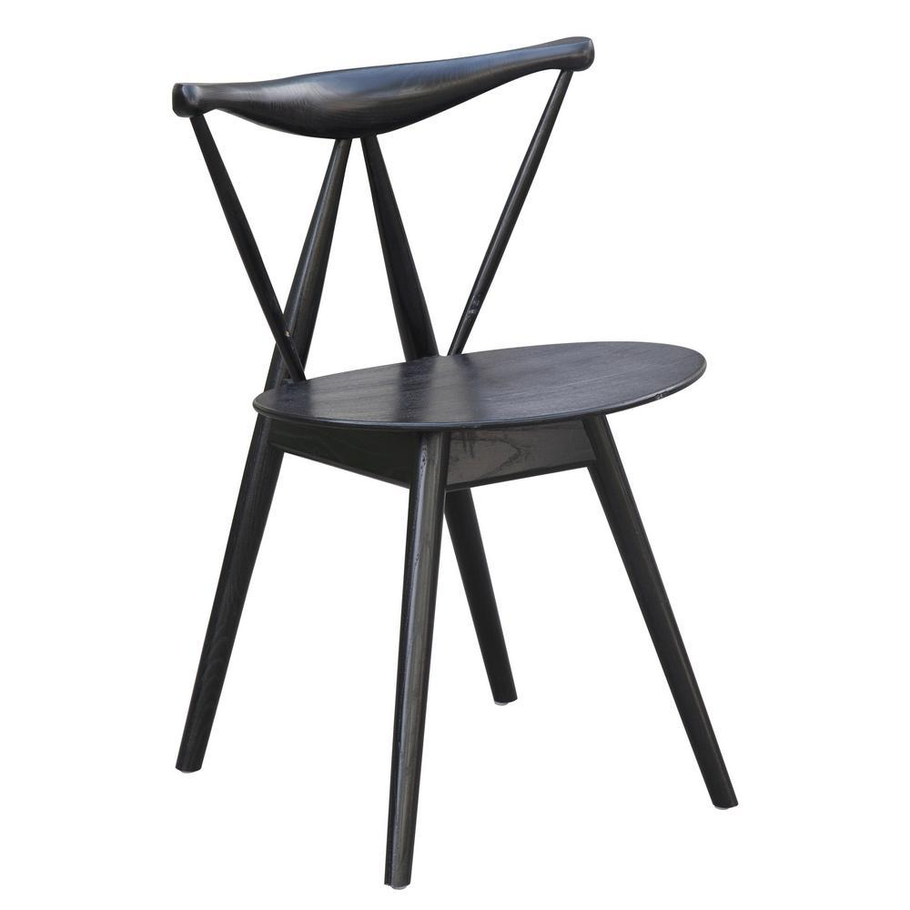 Black Fronter Dining Chair