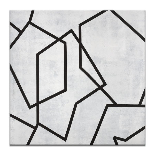 "Artwork 16x16x1.5"" Geometric 5 Artwork by Chalie MacRae"