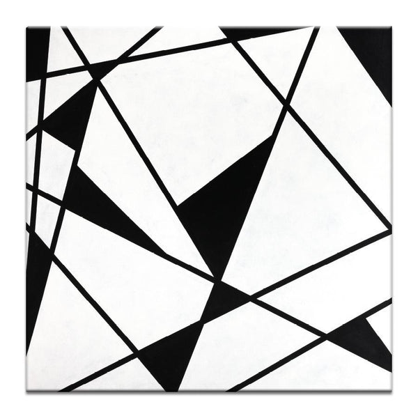 "Artwork 16x16x1.5"" Geometric 9 Artwork by Chalie MacRae"