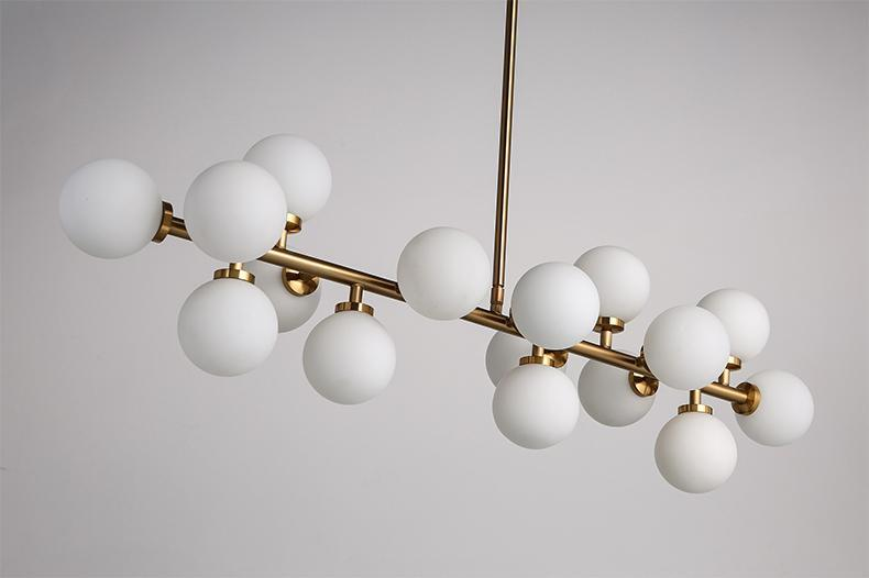 Glass Balls Simplistic Pendant Light at Lifeix Design