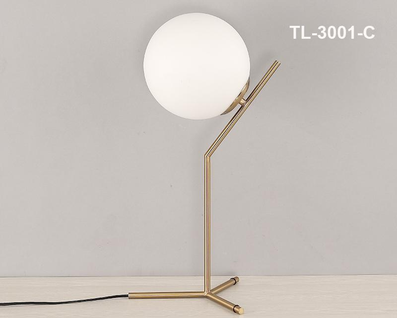 Glass Globe Simplistic Table Lamps at Lifeix Design
