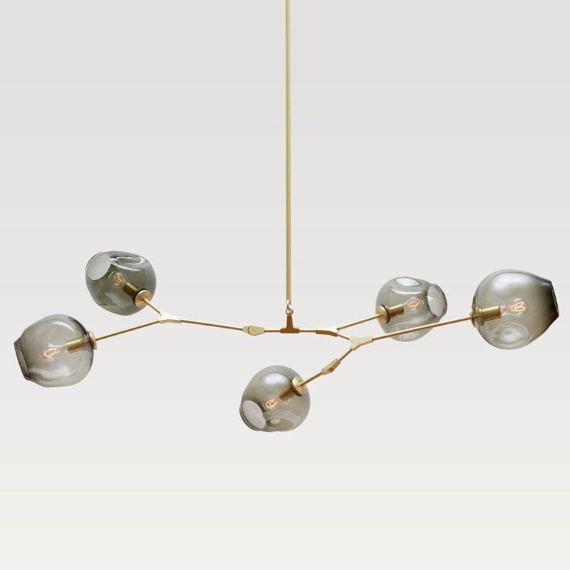 ceiling light Glass Globes Ceiling Light Industrial Style Pendant