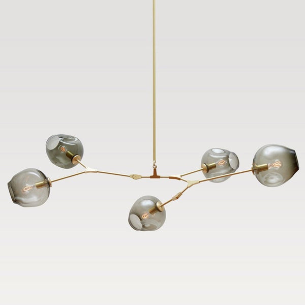 Buy Glass Globes Ceiling Light Industrial Style Pendant At