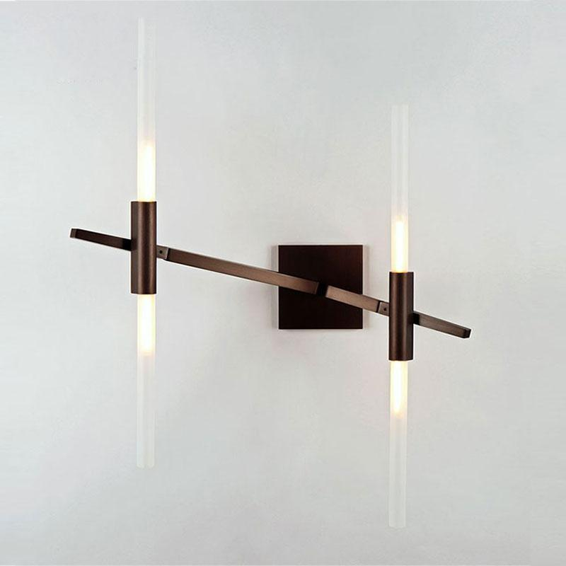Glass Sticks Modern LED Wall Light at Lifeix Design