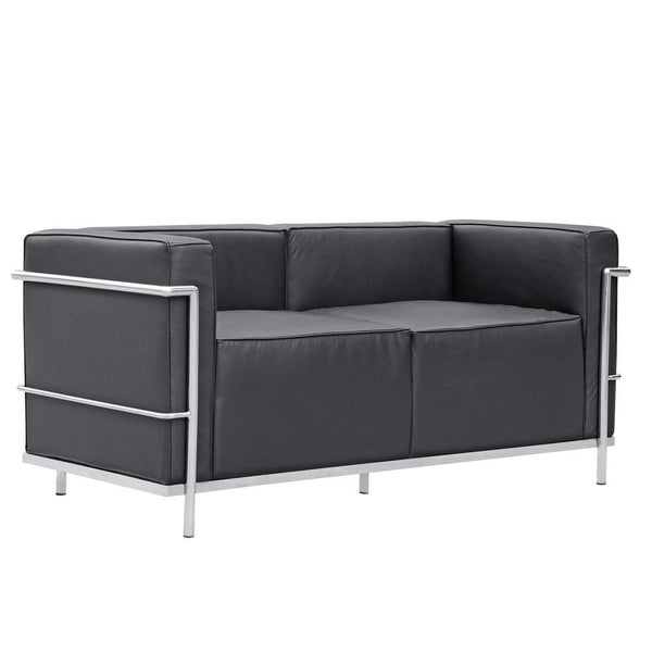 Black Grand Lc3 Loveseat