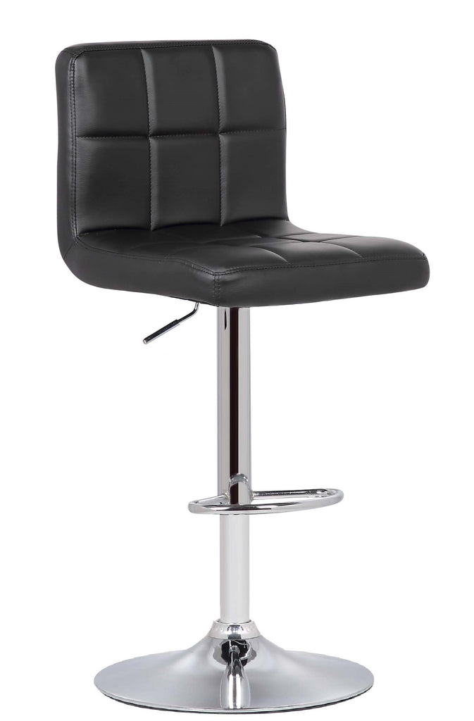 Bar Stool Black Griffin Adjustable Barstool (Set of 2)