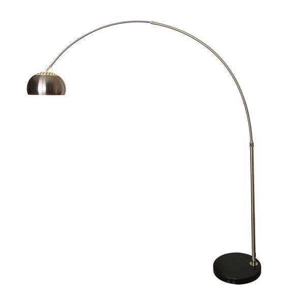 floor lamp Black Base / Single Hampton Arc Floor Lamp
