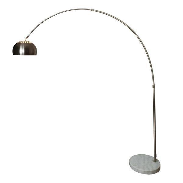 floor lamp White Base / Single Hampton Arc Floor Lamp