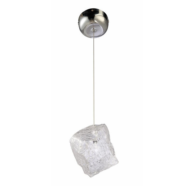 Clear Ice Pendant Lamp