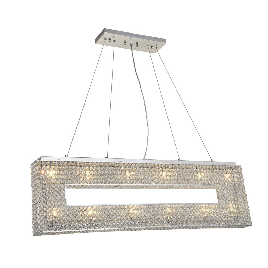 Pendant Illusion 12 Light Crystals Chandelier