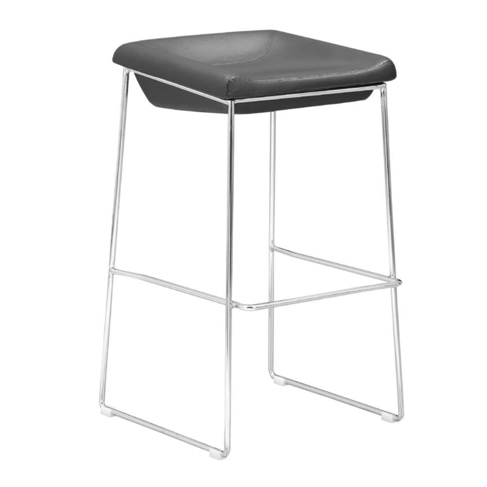 Black Indent Bar Stool