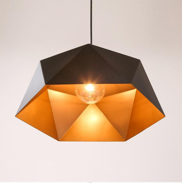 Large Pendant Lights Over Dining Table