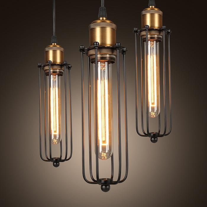 Industrial Retro-Style Pendant Lamps - Vintage Gladiator Lighting at Lifeix Design
