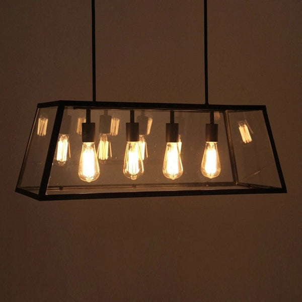 ceiling light Industrial Style Ceiling Light-4 Heads Edison