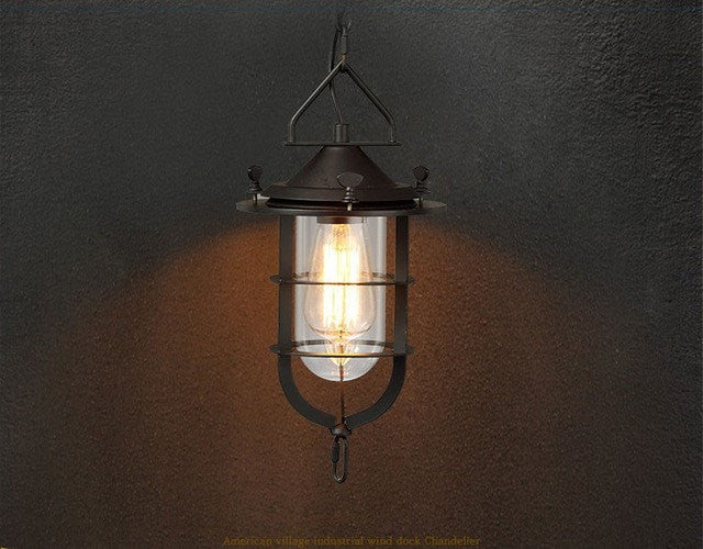 ceiling light Pendant Lights Industrial Style Pendant Lamp and Wall Light