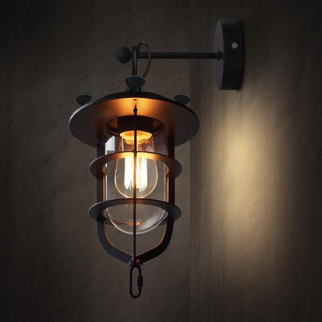 ceiling light Wall Lamps Industrial Style Pendant Lamp and Wall Light