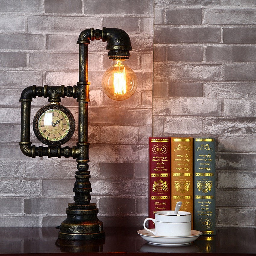 Buy Industrial Table Lamp Creative Loft Style At Lifeix