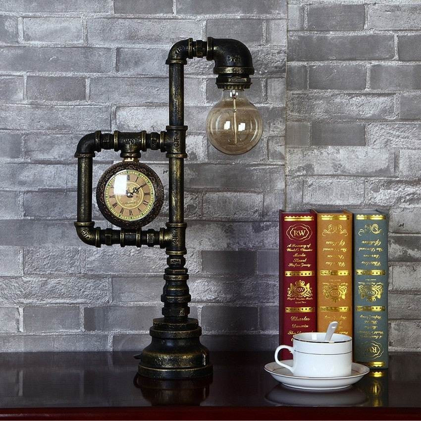 Buy Industrial Table Lamp-Creative Loft Style At Lifeix