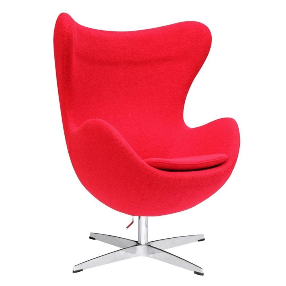 Red Inner Chair Fabric