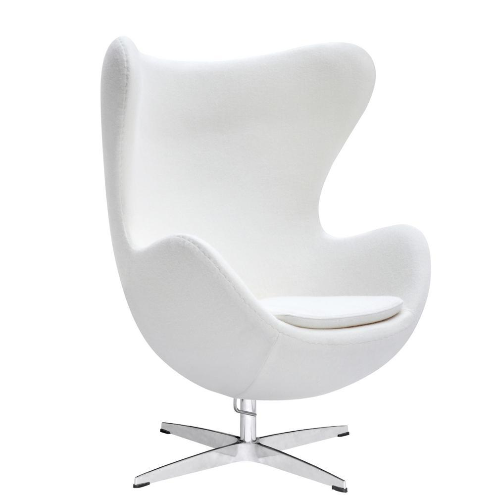 White Inner Chair Fabric