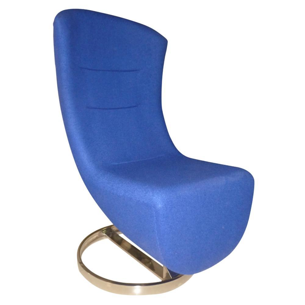 Blue Lay Lounge Chair