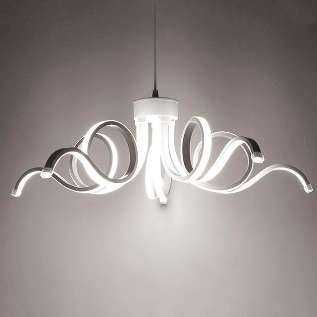 LED Octopus Chandelier - Modern Indoor Lighting Novelty at Lifeix Design