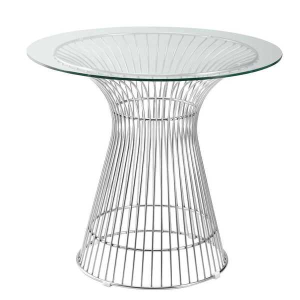 Clear Libo Dining Table 30""