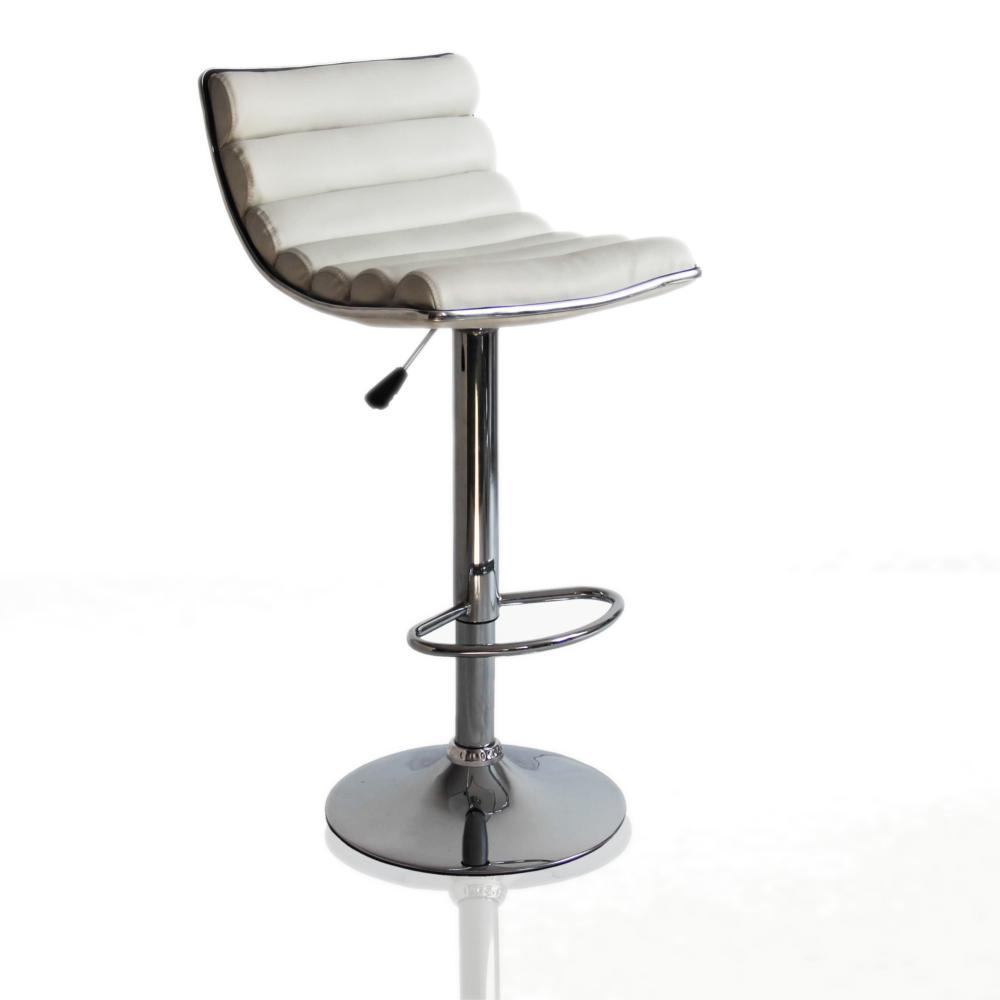 White Linder Bar Stool