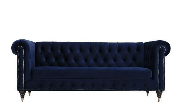 sofa Royal Blue / Single Liza Sofa