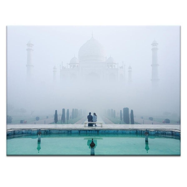 Lovers Taj Mahal Photograph Artwork Home Decor Wall Art at Lifeix Design
