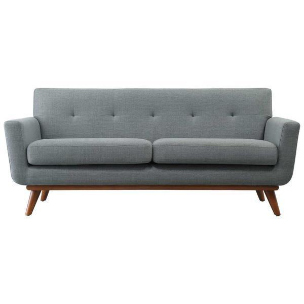 Chairs LIght Grey / Single Mari Loveseat