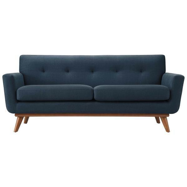 Chairs Marine Blue / Single Mari Loveseat