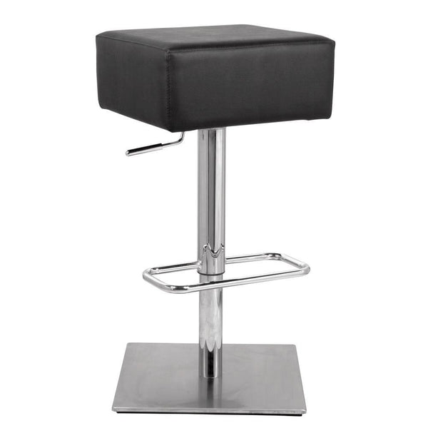 Black Marshmallow Bar Stool