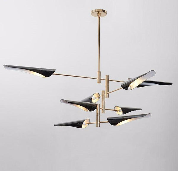 Metal Tubes Modern Decorative Pendant Light at Lifeix Design