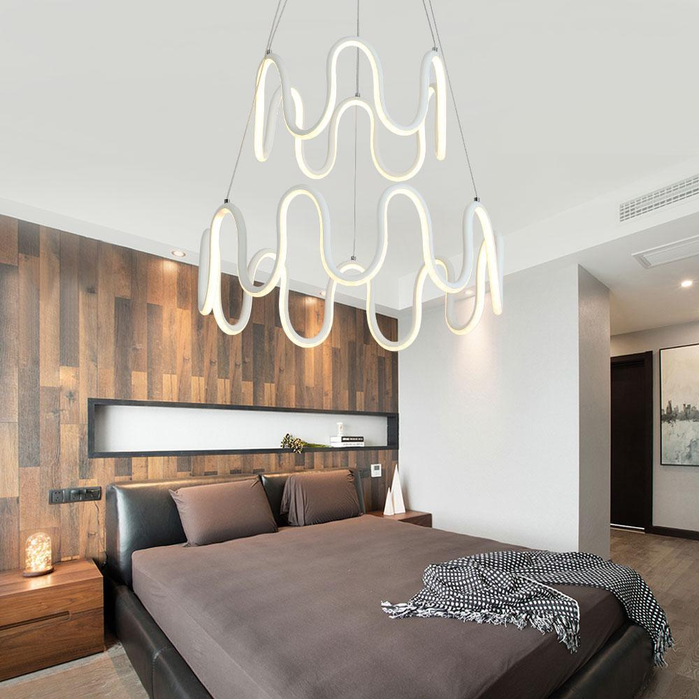 Buy Minimalistic Home Lighting Fixture - Symmetrical Curves, Modern ...