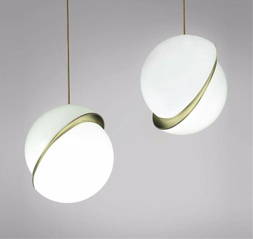 lowest price d3c48 69e97 Buy Globe Cut In Half - Misaligned Spheres Pendant Light at Lifeix Design  for only $416.39