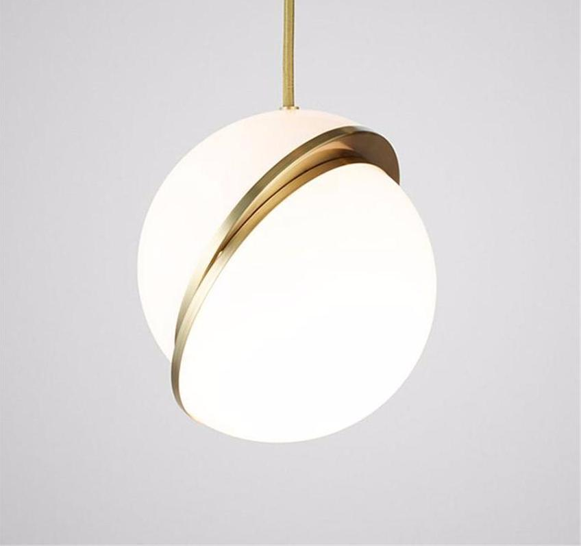 new concept cf838 27b01 Buy Globe Cut In Half - Misaligned Spheres Pendant Light at ...