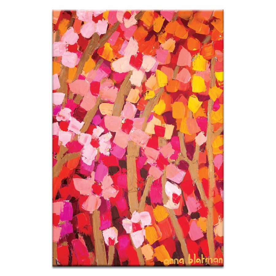 "Artwork 20x30x1.5"" Mixed Pinks 2 Artwork by Anna Blatman"