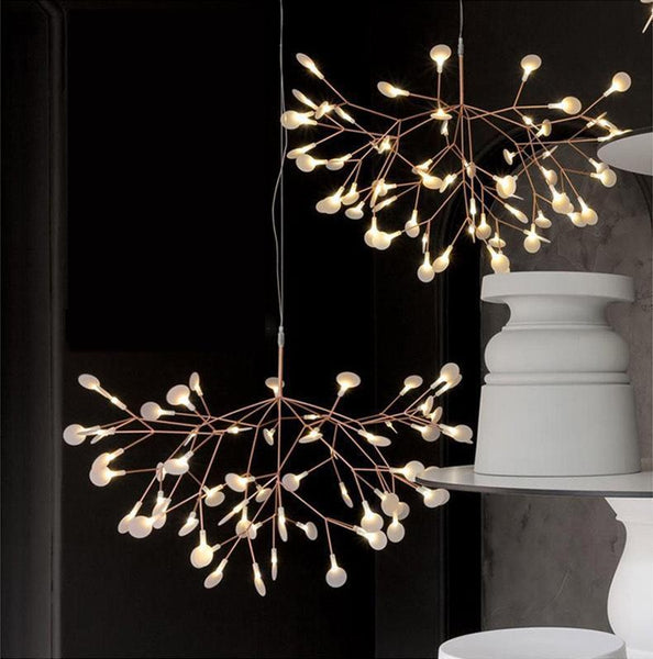 Modern Lighting Tree Branches - Firefly Lighting Art at Lifeix Design