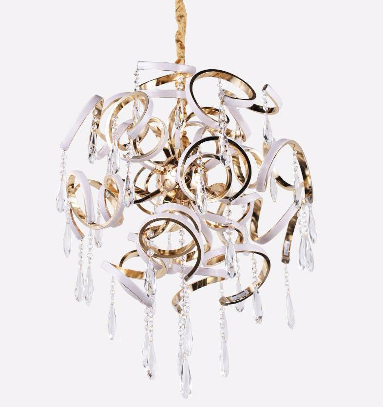 Modern Luxurious Pendant Light - LED Crystal Chandelier at Lifeix Design