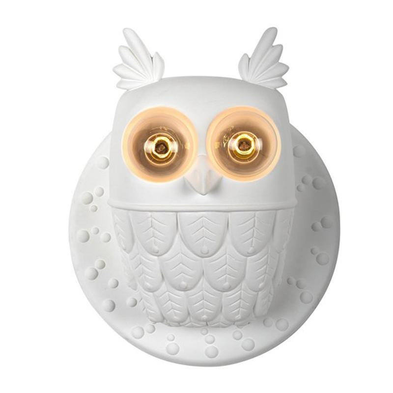 Modern Owl Design Wall Light at Lifeix Design