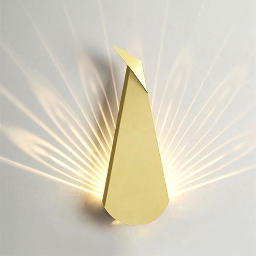 Buy Modern Peacock Nordic Style 3D Wall Sconce at Lifeix ...