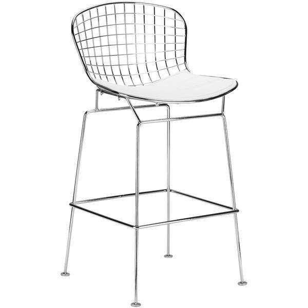 Chairs White / Single Morph Counter Stool