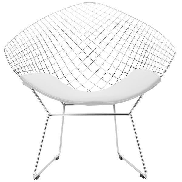 Chairs White / Single Morph Lounge Chair