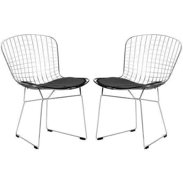 Chair Black / Set Of 2 Morph Side Chair (Set of 2)